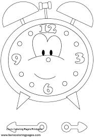 Make A Coloring Page Luxury Clock Coloring Pages Printable