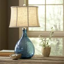 colored glass lighting. Sapphire Glass Table Lamp Colored Lighting D