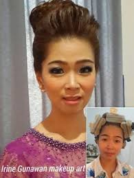 before after makeup by irine gunawan rinmakeup mua jakarta indonesia