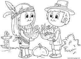 Small Picture Thanksgiving Coloring Pages For Toddlers Coloring Pages