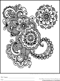 Small Picture Intricate Coloring Pages Adults Printables Coloring Coloring Pages