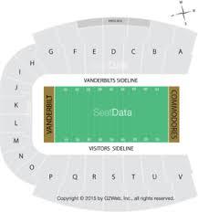 Details About 2 Vanderbilt Vs Kentucky Football Tickets Lower J Row1 11 16