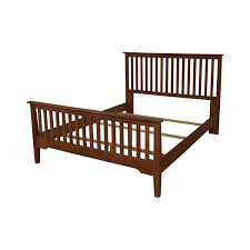 86% OFF - Nadeau Nadeau Mission Style Full XL to Queen Bed Frame / Beds