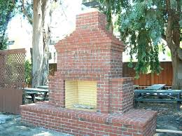 outdoor masonry fireplace outdoor brick fireplace an outdoor brick fireplace at the winter lodge in alto outdoor masonry fireplace