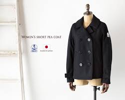 short peacoat japan fidelity fidelity womens short peacoat made in japan