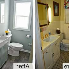 bathroom remodel on a budget pictures. Bathroom Remodel Budget Breakdown White Toilet On Gray Tile Floor Construction Cool Worksheet Nick Checklist Contractor A Pictures
