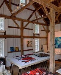 Studio Design Ideas Large Home Art Studio Design With Wooden Frames