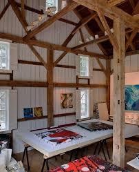 Studio Design Ideas large home art studio design with wooden frames