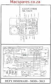 wiring diagram dishwashers macspares whole spare parts defy dishwasher dishmaid 3013