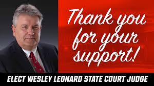 Elect Wesley Leonard State Court Judge - Posts | Facebook