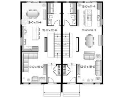 Enchanting Semi Detached House Plans 40 In Home Decoration Ideas With Semi  Detached House Plans