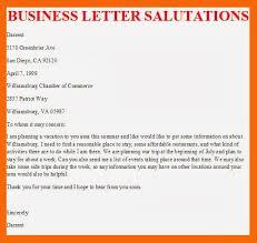 Business Letter Closing Salutation Resume Pdf Download