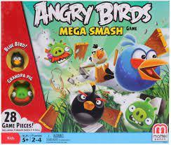 Mattel Angry Birds Exklusiv Board Game Mega Smash (USA Version): Amazon.de:  Spielzeug
