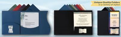 ... Interesting Inspiration Resume Presentation Folder 11 Presentation  Folders Two Pocket ...