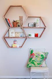 diy office decor. DIY Home Office Decor Ideas - Honeycomb Shelves Do It Yourself Desks,  Tables Diy Office Decor F