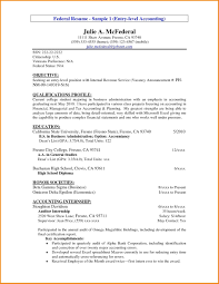 Cover Letter For Chartered Accountant Resume Accounting Resume Cover Letter