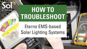 I Lighting Systems Troubleshooting Tutorial For Sols Solar Lighting Systems