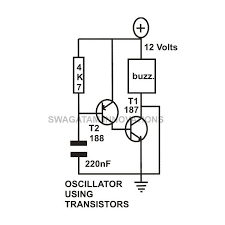 transistor circuits configuration current amplifier limiter transistor circuits oscillator circuit image