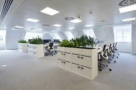 clear office. The Reconfigured Floor Plate Provides An Even Greater Space Ratio For Clear Channel\u0027s Workforce. Built To A Modern And High Specification, Office C