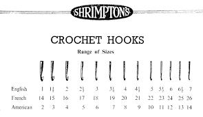 Steel Crochet Hook Conversion Chart 28 June 2014 Crochetnmore