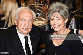 Architect Frank Gehry and Berta Isabel Aguilera attend the 43rd AFI Life  Achievement Award Gala honoring