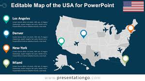 editable us map powerpoint usa editable powerpoint map presentationgo com