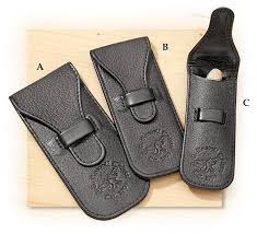 leather knife pouches