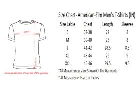 American Shirt Size Chart Coolmine Community School