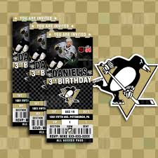 Pittsburgh Penguins Bedroom Decor Pittsburgh Penguins Hockey Printable Flags Easy Party Decorations