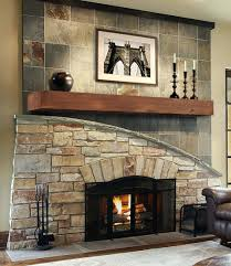 modern stone fireplace wall ideas design stacked fireplaces designs color m l f