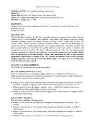 Paraprofessional Job Description For Resume Cover Letter Design Top Paraprofessional Cover Letter Sample 7