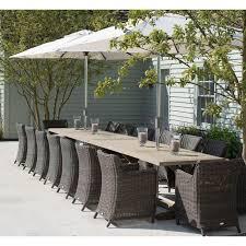 neptune bordeaux 16 seater dining set
