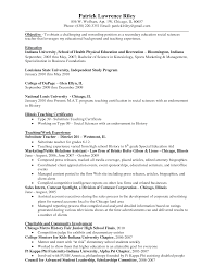 Resume Objective Examples No Work Experience Homework Help Ypsilanti District Library education section on a 50