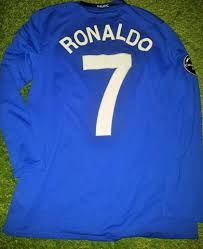 Free shipping on many items. Cristiano Ronaldo Manchester United Uefa 2008 2009 Blue Long Sleeve Je Foreversoccerjerseys
