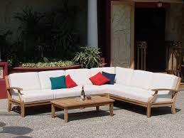 wood outdoor sectional. Beautiful 5 Piece A Grade Teak Dining Patio Set \u0026 Pool 1 Lounge Chair, 2 Love Seat, Corner Seat Coffee Table Wood Outdoor Sectional
