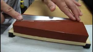 Sharpening Knife On A Whetstone With Master Sushi Chef Hiro Terada Sharpening Kitchen Knives
