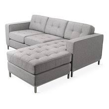 Exellent Mid Century Modern Sectional Couch Urban Loft Inside Perfect Ideas