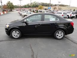 Black 2012 Chevrolet Sonic LT Sedan Exterior Photo #55235227 ...