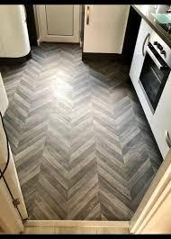 chevron design cushioned vinyl floor