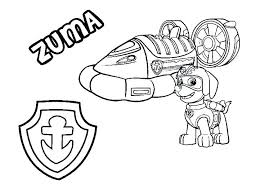 Coloring Pages Paw Patrol Coloring Page Skye Pages G Print Free