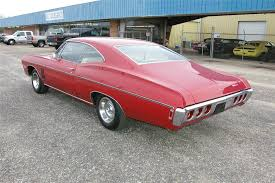 what new car did chevy release in 19681968 Impala 2 door did over 100 miles per hour  Cars Ive driven