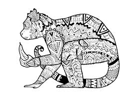 Small Picture Printable Coloring Page Animals Free Animal For Pages Eson Me