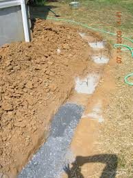i construct my walls with footers to prevent heaving when the ground i am building on is sloping or uneven