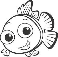 Baby Nemo Con Gli Occhi Dolci Disegni Da Colorare Alla Ricerca Di