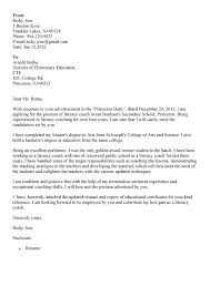 Head Softball Coach Cover Letter Coaching Letter Of Interest