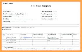 Software Test Case Template Software Testing Spreadsheet Template Free Software Testing