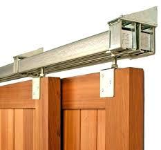 ceiling mount sliding door wall mount sliding door hardware ceiling mounted barn door track medium size