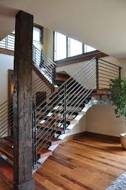 Modern Handrail best 25 modern stair railing ideas modern 5592 by xevi.us