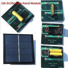 details about portable 2v 4v 1w diy solar panel module system toy for aa aaa battery charger