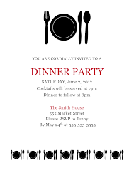 Party Invitation Email Template Zromtk Extraordinary Free Dinner Invitation Templates Printable